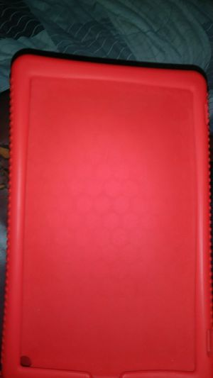 Finite silicone case for the Amazon Fire HD tablet Seventh Generation 2017 honeycomb series for Sale in Clearwater, FL