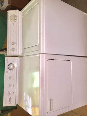 Washer and Dryer(both electric) Super Capacity plus for Sale in Sun City, AZ