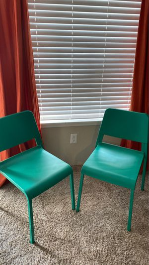 Green ikea chairs for Sale in Houston, TX