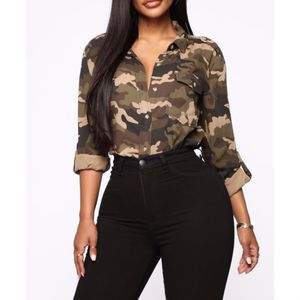 Bershka BSK Camo Army Print Button Down Top Sz. S for Sale in Los Angeles, CA