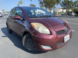 2009 Toyota Yaris Red for Sale in Costa Mesa, CA