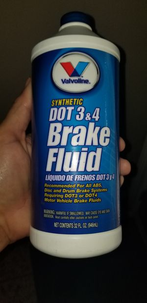 Valvoline synthetic DOT 3 & 4 brake fluid for Sale in Houston, TX
