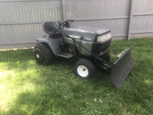 Craftsman tractor riding lawn mower snow plow for Sale in Bound Brook, NJ
