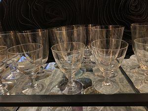 Antique Wine /Water Glasses for Sale in La Mirada, CA