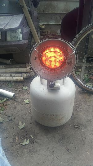 Heater,goes on 20#tank,price is heater only,tank extra. for Sale in Brown City, MI