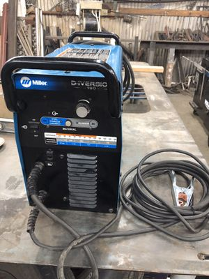 Miller Diversion tig 180 for parts or repair welder for welding for Sale in Los Angeles, CA
