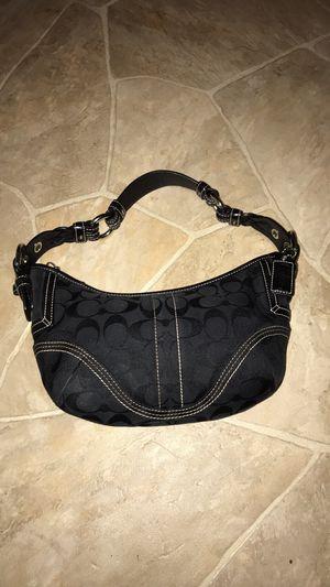 Coach Purse - Gently Used - Black for Sale in Pekin, IL