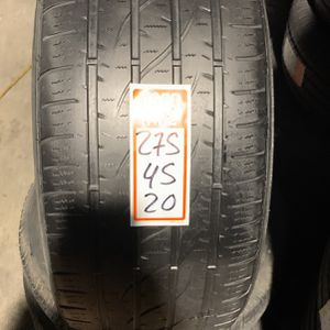 Tires 275/45/20 Firestone for Sale in Opa-locka, FL