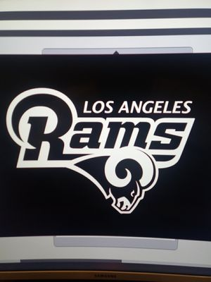 Rams Decal for Sale in Los Angeles, CA