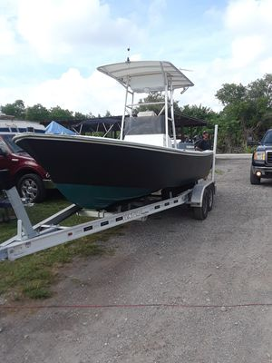 Aqua sport center console Matt black for Sale in Clearwater, FL