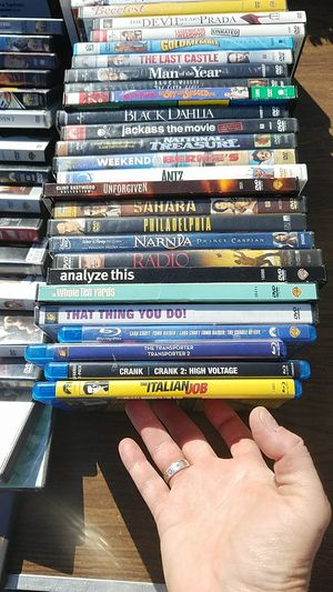 45 assorted movies/dvds $40 for all for Sale in San Jose, CA