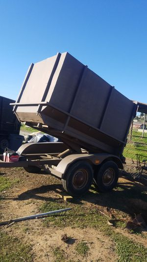 Dump Trailer 1981 for Sale in Ramona, CA