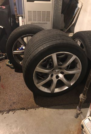 Infiniti G35 coupe wheels and tires for Sale in Reading, PA