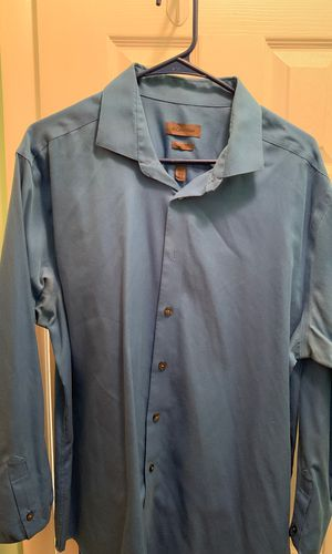CK blue fitted dress shirt for Sale in Alexandria, VA
