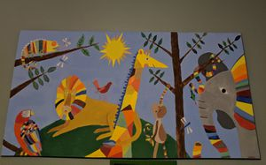 Large children's painting for Sale in Tempe, AZ