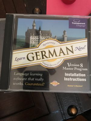 Learn German now for Sale in Golf, FL