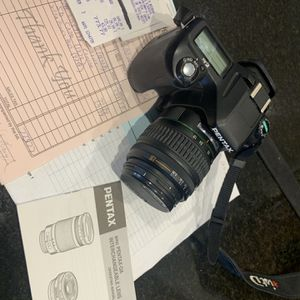 Pentax N73 & Pentax -DA Lens for Sale in Cedar Hill, TX