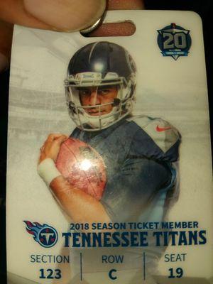 Titans vs Colt's tickets for Sale in Nashville, TN