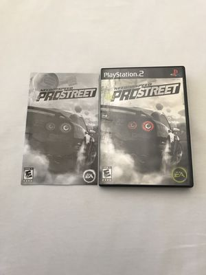 Ps2 Game: Need For Speed Pro Street Disc Like New for Sale in Reedley, CA