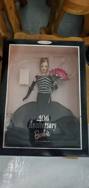 40th anniversary barbie for Sale in Salem, OR