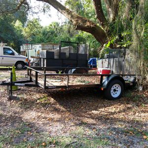 2019 triple crown utility trailer 6x12 for Sale in Kissimmee, FL