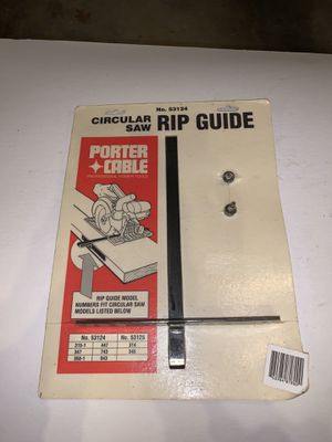 Porter Cable Circular Saw Rip Guide for Sale in Freehold, NJ