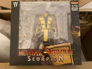 STORM COLLECTIBLES 1/12 MORTAL KOMBAT SCORPION Action Figure - IN STOCK!!!! for Sale in Orlando, FL