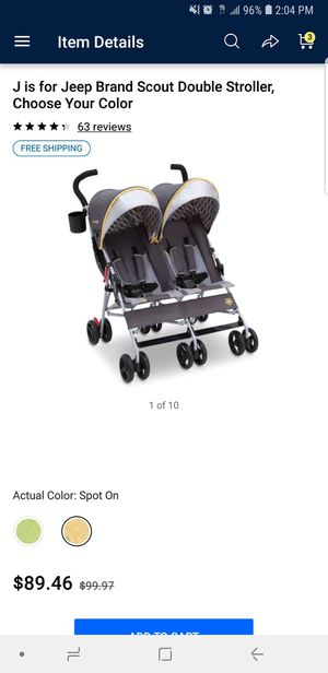 Double stroller for Sale in Pennsauken Township, NJ