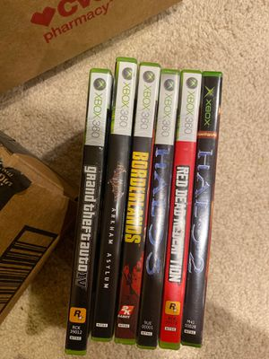 XBOX 360 games ($5 each) for Sale in Olney, MD