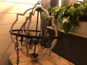TZOE Orb 6 light chandelier for Sale in Escalon, CA