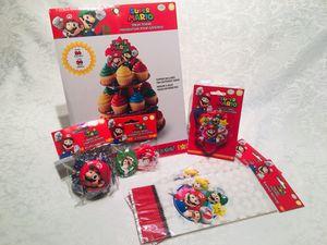 BIRTHDAY BUNDLE - Super Mario Bros for Sale in Lauderdale Lakes, FL