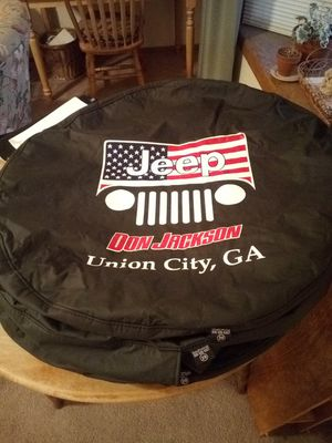 Jeep spare wheel covers for Sale in Colorado Springs, CO