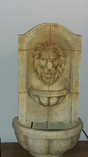 Water fountain of a lion. O.B.O for Sale in Tacoma, WA