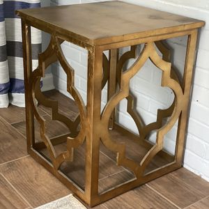 Elegant Gold Side Tables (2 Available ) for Sale in Farmville, VA