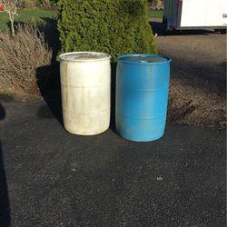 55 Gallon Water Barrels for Sale in Everett,  WA
