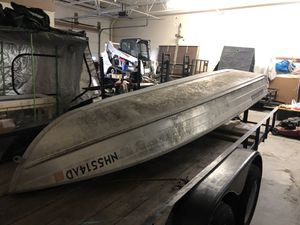 14ft grumman aluminum bass boat for Sale in Smithfield, RI