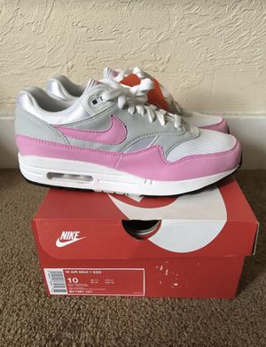 2fb99296a27c6 Nike Air Max 1 Psychic Pink size 10 WOMENs for Sale in Pittsburgh
