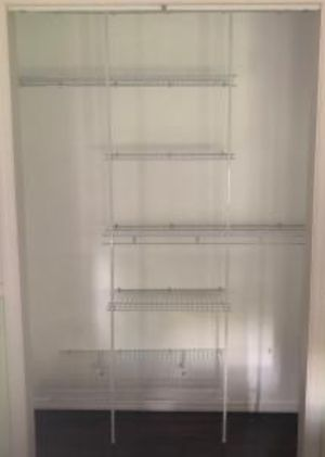 New!! Closet Organizer, Storage Unit,Shelving Unit,5' to 8' for Sale in Phoenix, AZ