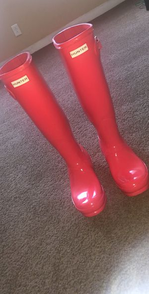Hunter Gloss Rain Boots for Sale in Columbus, OH