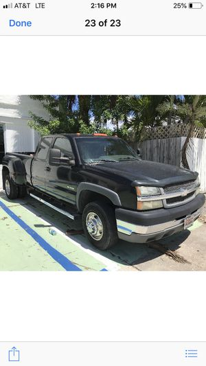 Chevy 3500 dually gas engine 8.1 gas so don't ask if it's a diesel Gas 8.1 for Sale in Boynton Beach, FL