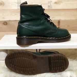 Vintage Dark Green Dr. Martens combat Boots size 6 (4UK) for Sale in Kent, WA