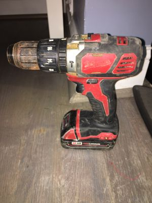 Milwaukee hammer drill for Sale in Bladensburg, MD