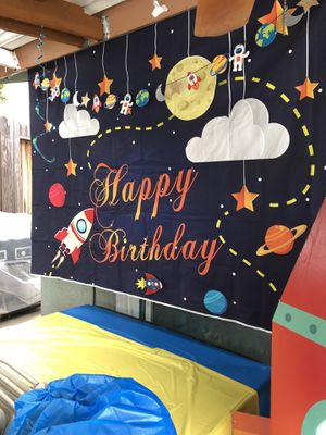 Birthday Supplies Rockets Space themed for Sale in Industry, CA