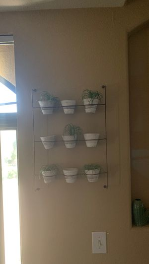 Succulent wall holder for Sale in Scottsdale, AZ