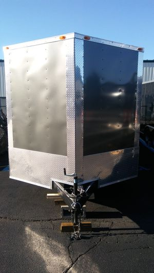 ENCLOSED VNOSE ALUMINUM TRAILERS MANY SIZES for Sale in Maynard, MA