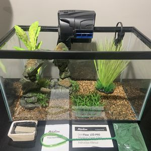 10 Gallon Fish Tank for Sale in Libertyville, IL