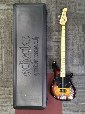 Electric Bass Guitar W/Case (Schecter Diamond Series) for Sale in Portland, OR