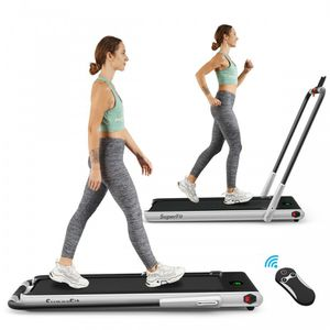 2-in-1 Folding Treadmill with RC Bluetooth Speaker LED Display for Sale in Irvine, CA