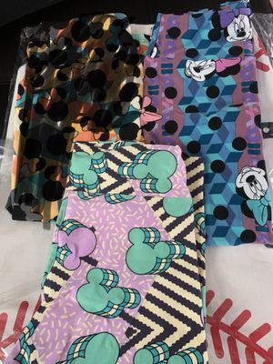 LuLaRoe Disney OS (one size) leggings for Sale in Bunker Hill, WV