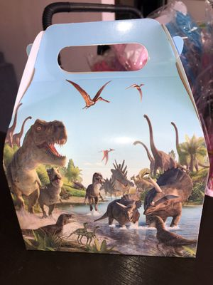 Dinosaur boxes $10 a doz for Sale in Lakewood, CA